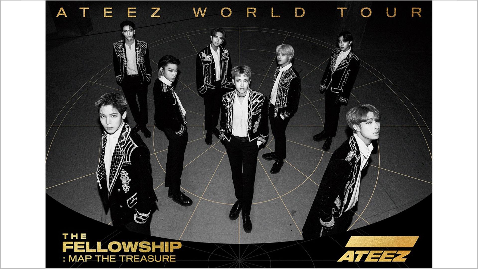"""ATEEZ WORLD TOUR THE FELLOWSHIP:MAP THE TREASURE SEOUL"" フジテレビTWOオリジナルバージョン"
