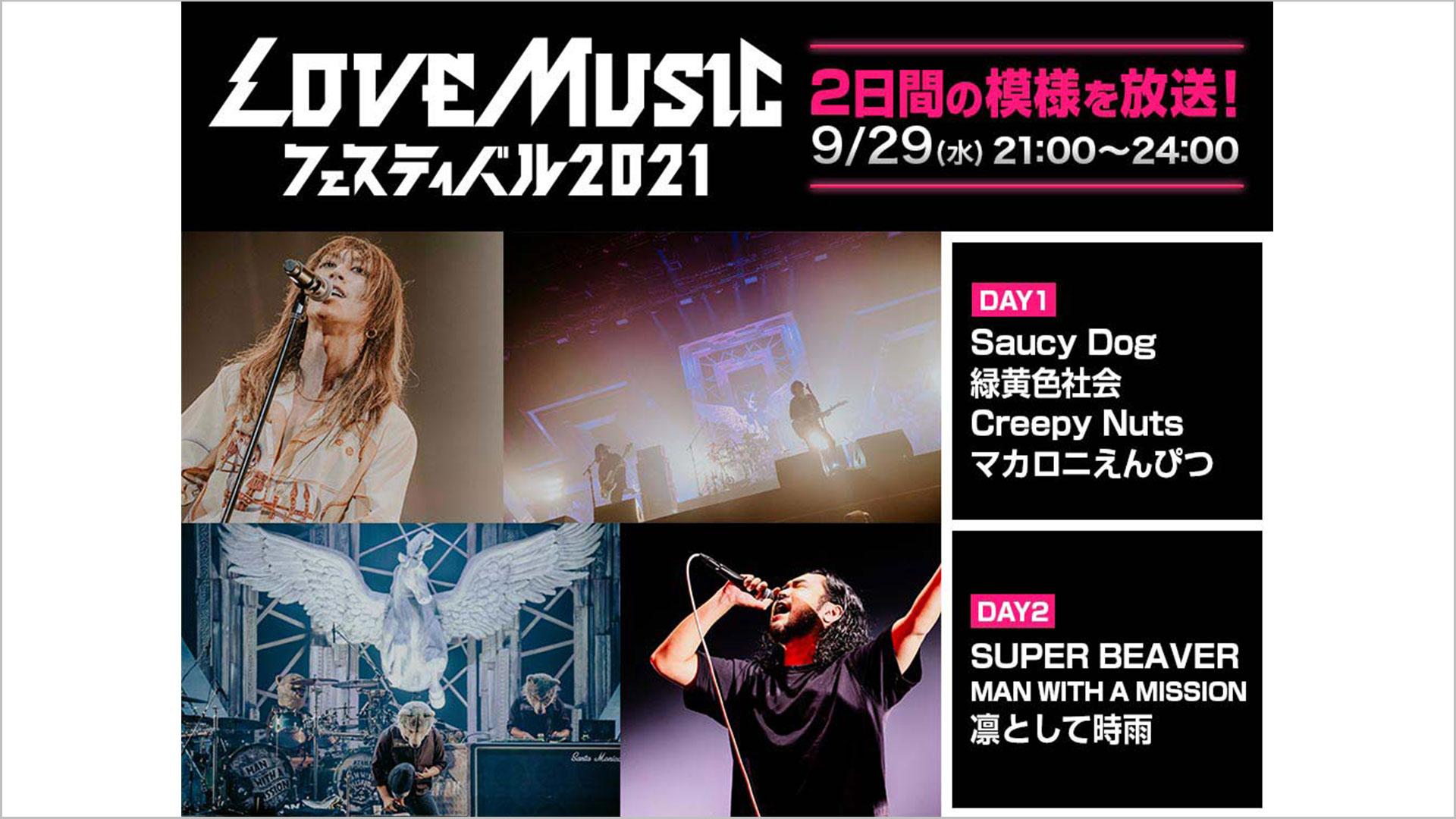 LOVE MUSIC FESTIVAL 2021