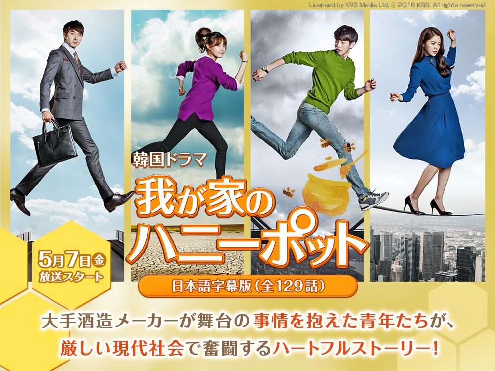 韓国ドラマ『我が家のハニーポット』日本語字幕版(全129話)